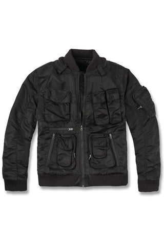 Stealth Utility Bomber Jacket