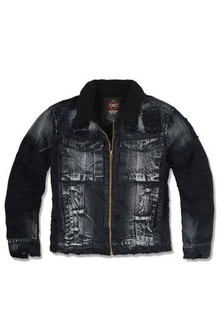 Kids New School Sherpa Trucker Jacket
