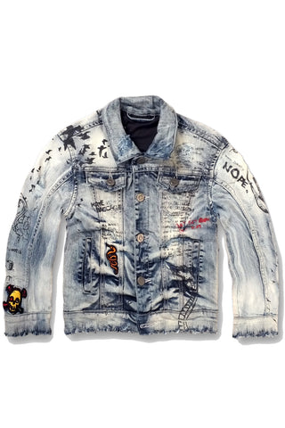 Kids Doodle Denim Jacket 2.0