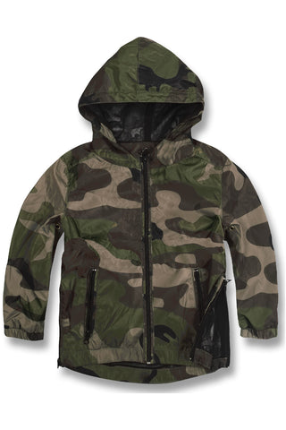 Kids Army Core Full Zip Windbreaker