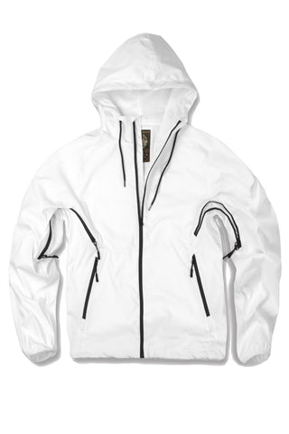 Jordan Craig - Sprinter Ventilated Windbreaker (White)