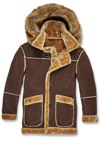 Jordan Craig - Denali Shearling Jacket (Brown)