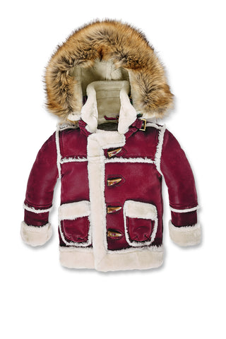 Jordan Craig - Kids Denali Shearling Jacket (Wine)