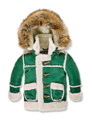 Jordan Craig - Kids Denali Shearling Jacket (Money Green)