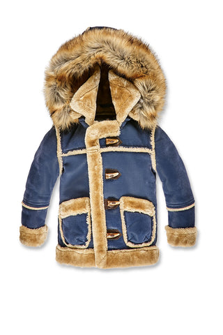 Jordan Craig - Kids Denali Shearling Jacket (Midnight Blue)