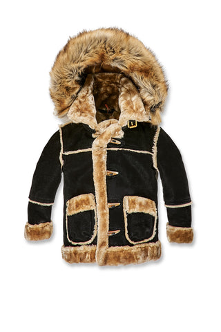 Jordan Craig - Kids Denali Shearling Jacket (Black Coffee)