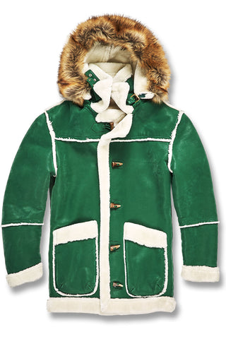 Jordan Craig - Denali Shearling Jacket (Money Green)