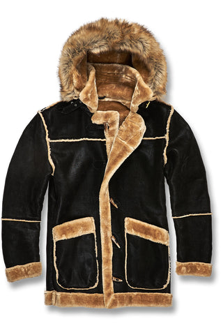Jordan Craig - Denali Shearling Jacket (Black Coffee)