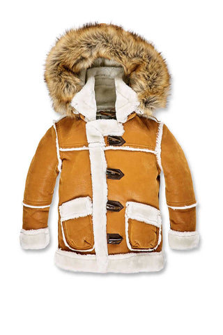 Jordan Craig - Kids Denali Shearling Jacket (Burnt Orange)
