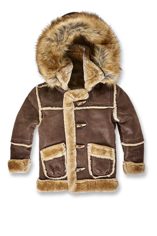 Jordan Craig - Kids Denali Shearling Jacket (Brown)