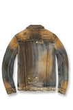 Jordan Craig - Mercer Pleated Denim Jacket (Copper Wash)