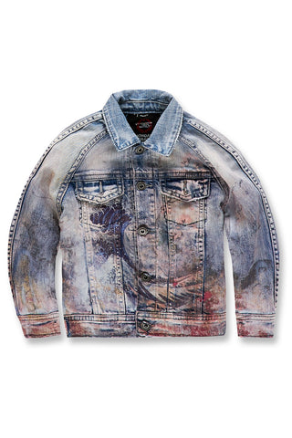 Kids Fuji Denim Jacket (Blue Wave)