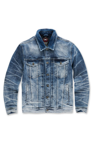 Austin Denim Trucker Jacket (Arctic Wash)