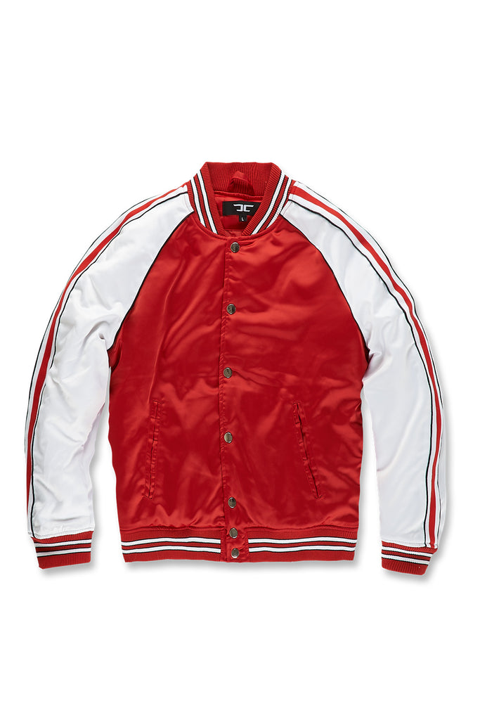 Jordan Craig - Cooperstown Bomber Jacket (Red)