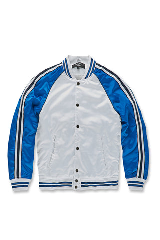 Jordan Craig - Cooperstown Bomber Jacket (Royal)
