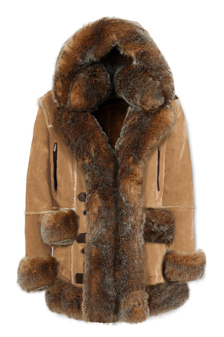 Aspen Shearling Jacket (Desert Fox)