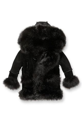 Kids Aspen Shearling Jacket (Black)