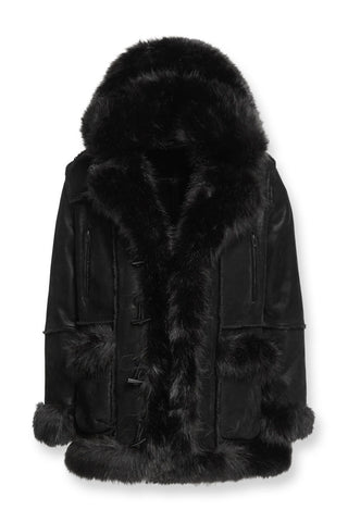 Big Men's Aspen Shearling Jacket (Black)
