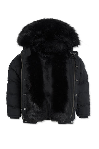 Kids Fargo Fur Lined Parka 2.0 (Black)