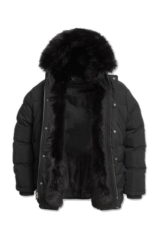 Jordan Craig - Big Men's Fargo Fur Lined Parka 2.0 (Black)