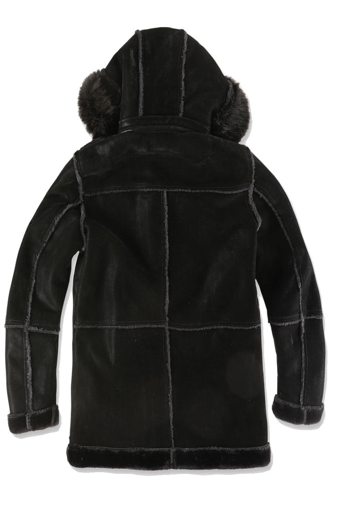 Jordan Craig - Big Men's Denali Shearling Jacket (Black)