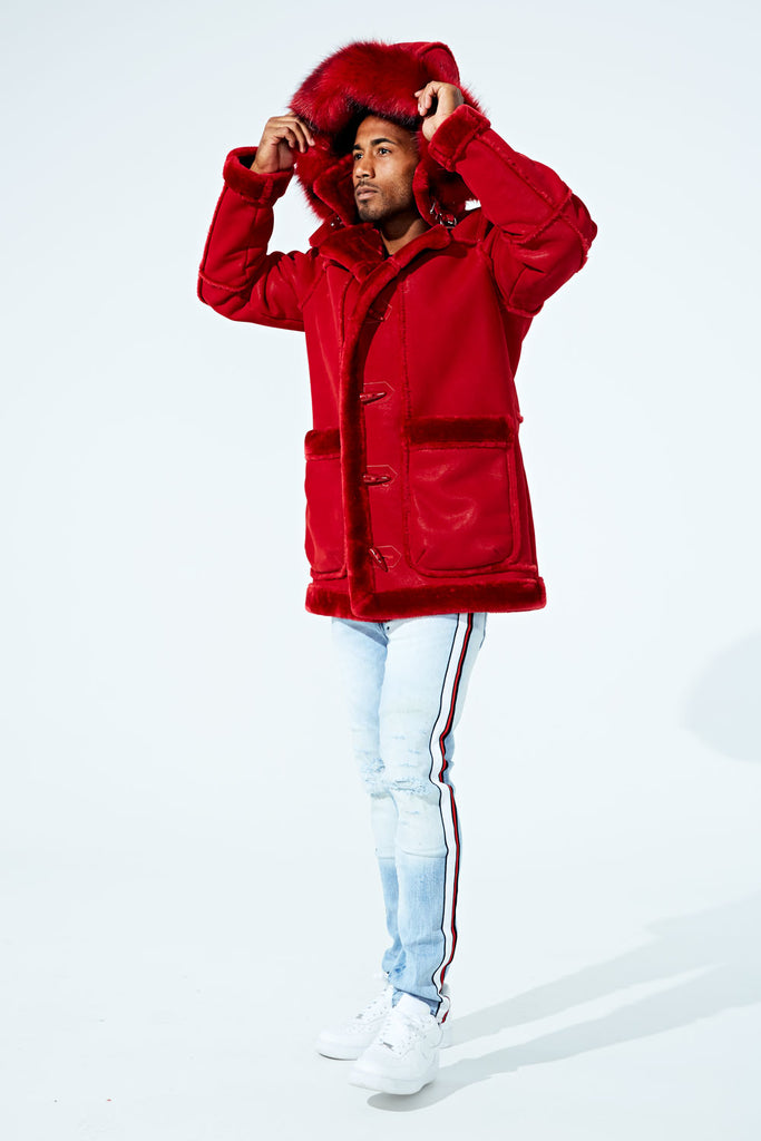 Jordan Craig - Denali Shearling Jacket (Red)