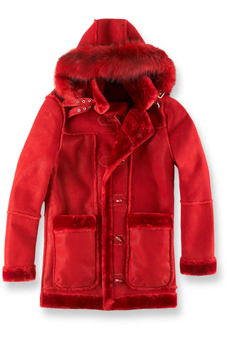 Jordan Craig - Big Men's Denali Shearling Jacket (Red)