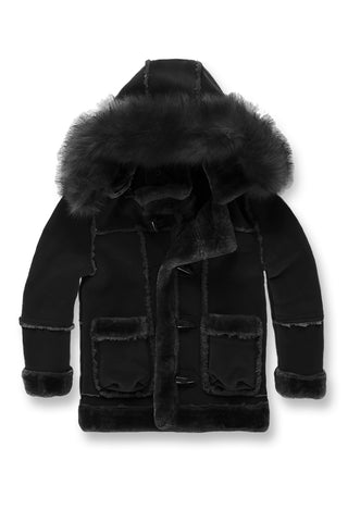 Jordan Craig - Kids Denali Shearling Jacket (Black)