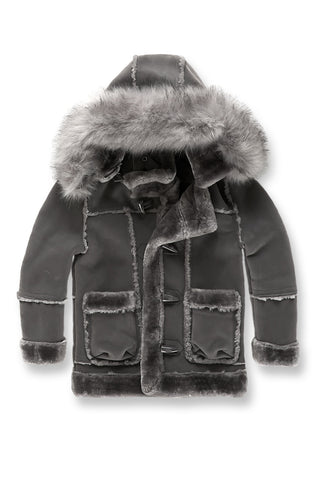 Kids Denali Shearling Jacket (Charcoal)