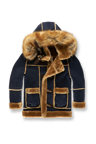 Kids Denali Shearling Jacket (Navy)