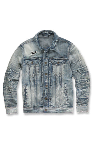 Reno Denim Trucker Jacket (Aged Wash)