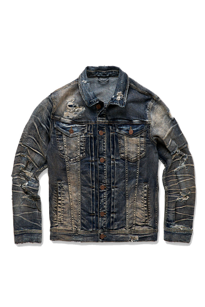 Jordan Craig - Reno Denim Trucker Jacket (Canyon Blue)