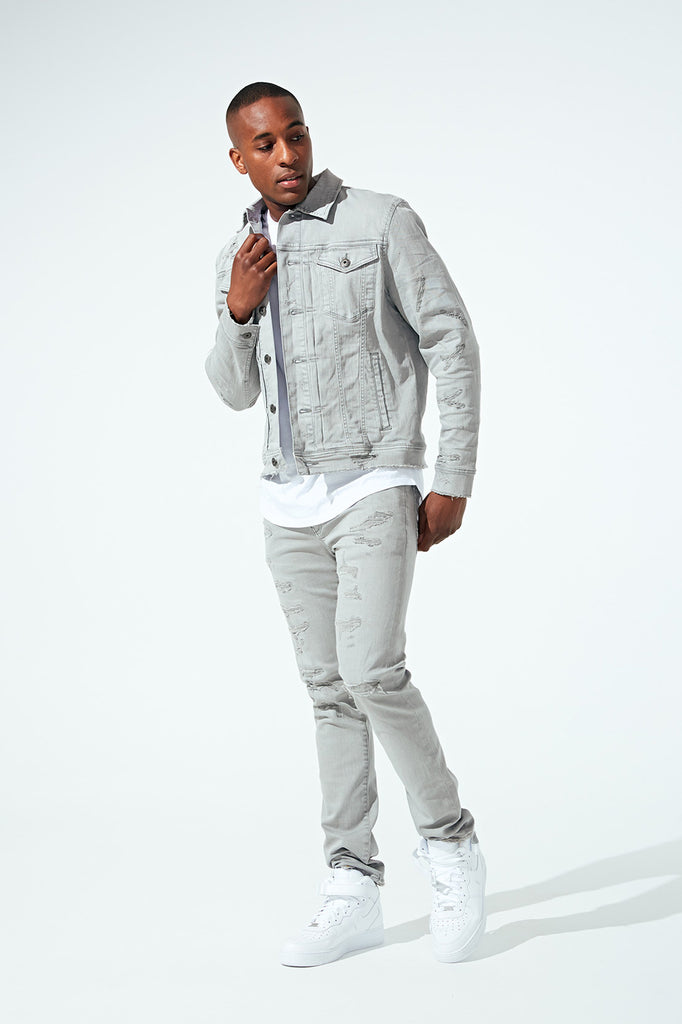 Jordan Craig - Aaron - Tribeca Twill Pants (Light Grey)