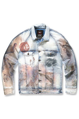 Jordan Craig - Rising Sun Denim Jacket (Ice Blue)