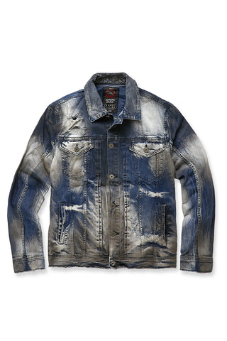 Jordan Craig - Big Men's Sedona Denim Jacket (Aged Wash)