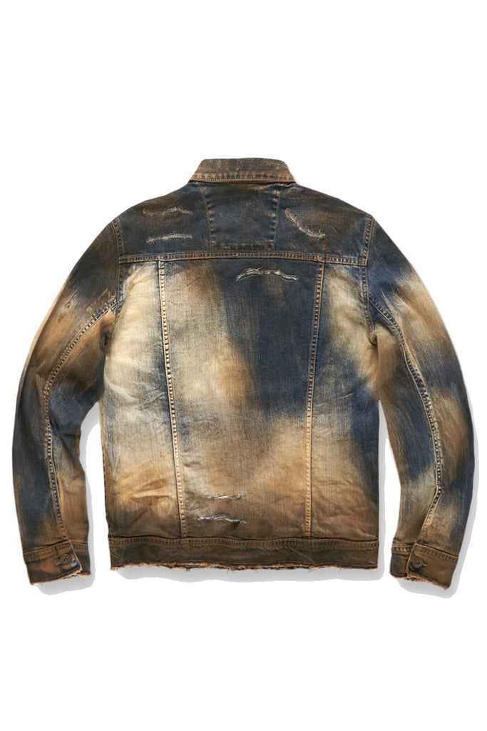 Jordan Craig - Big Men's Sedona Denim Jacket (Copper Wash)