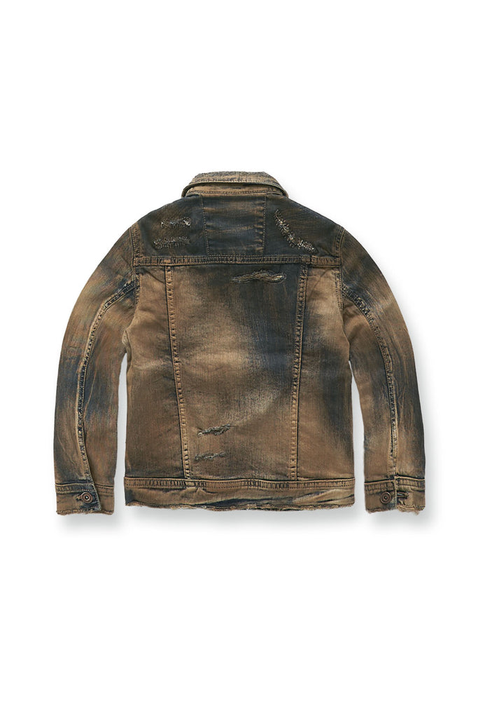 Kids Sedona Denim Jacket (Copper Wash)
