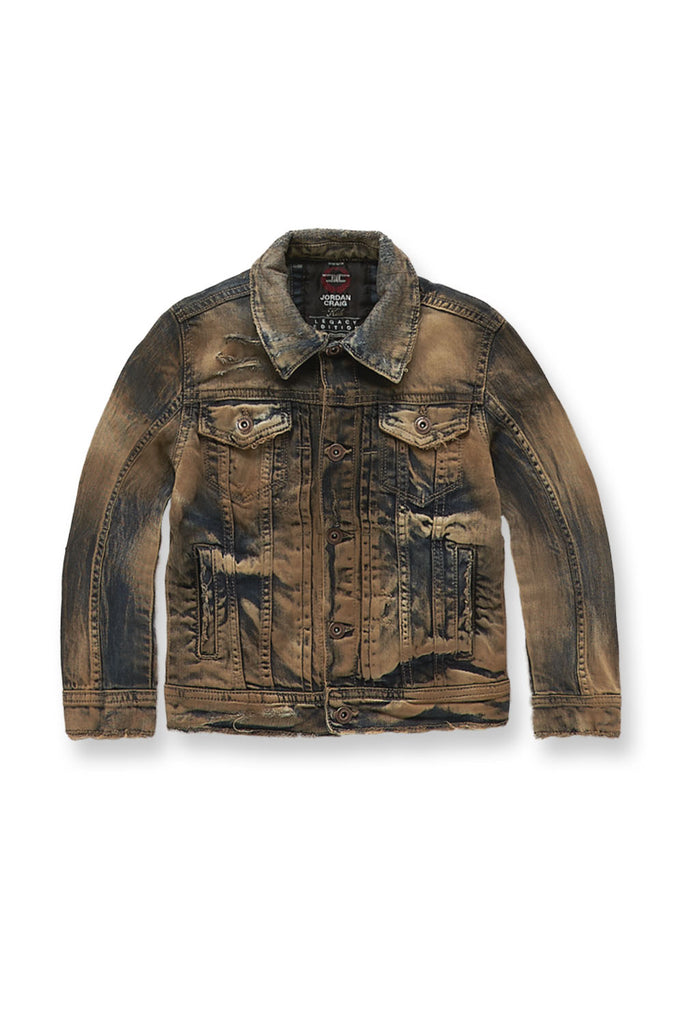 Jordan Craig - Kids Sedona Denim Jacket (Copper Wash)