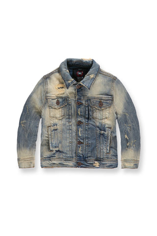 Kids Reno Denim Trucker Jacket (Desert Storm)