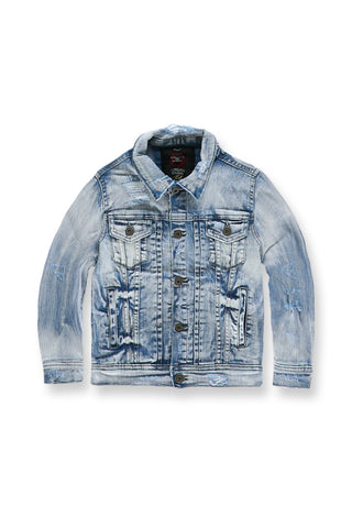 Kids Reno Denim Trucker Jacket (Ice Blue)