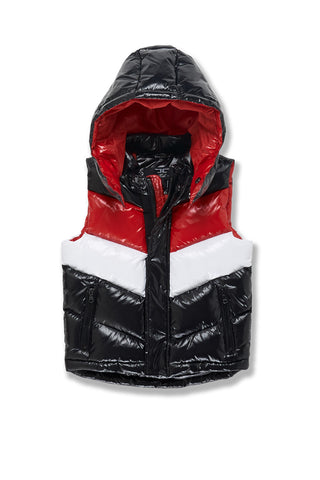 Kids Sugar Hill Puffer Vest (Red)