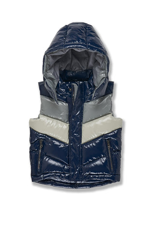 Kids Sugar Hill Puffer Vest (London Blue)