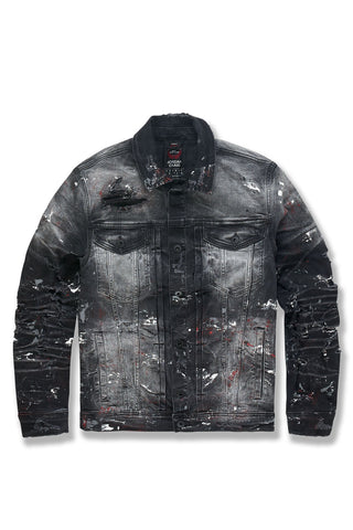 Avalanche Denim Trucker Jacket (Bred)
