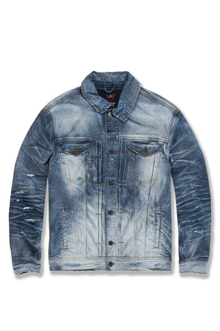 Soho Denim Trucker Jacket (Aged Wash)