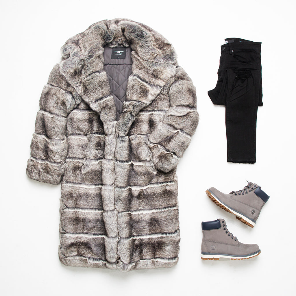 Don Juan Fur Coat (Chinchilla)