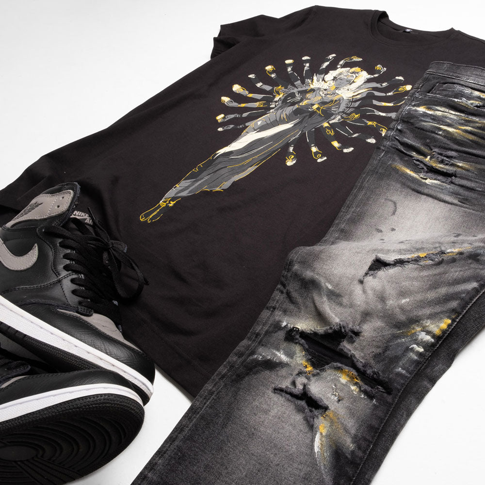 Jordan Craig - Goddess Graphic T-Shirt (Black)