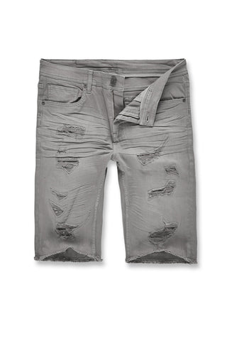 Memphis Twill Shorts 2.0 (Light Grey)