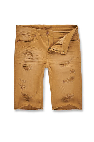 Memphis Twill Shorts 2.0 (Summer Wheat)