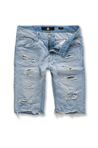 Jordan Craig - Biscayne Denim Shorts (Ice Blue)