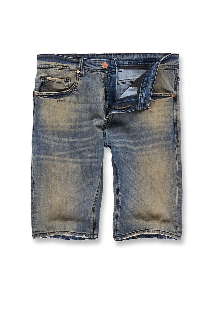 9cc986aaf225 Big Men s Newcastle Denim Shorts 2.0 (Death Valley) – Jordan Craig